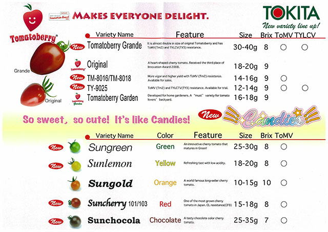 TOMATOBERRY CANDIES